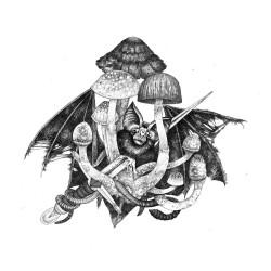 Kylesa - Dead Bat - Giclée