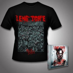 Leng Tch'e - Razorgrind + Mosh Justice - CD + T Shirt bundle (Men)