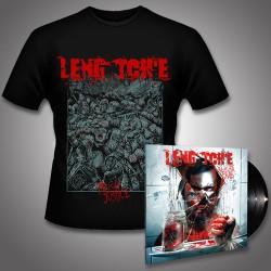 Leng Tch'e - Razorgrind + Mosh Justice - LP Gatefold + TShirt Bundle