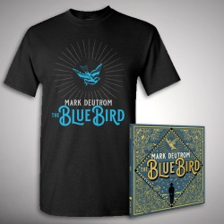 Mark Deutrom - The Blue Bird - CD DIGIPAK + T Shirt bundle (Men)