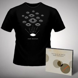 Mark Deutrom - The Value of Decay + Eyes - CD DIGIPAK + T Shirt bundle (Men)