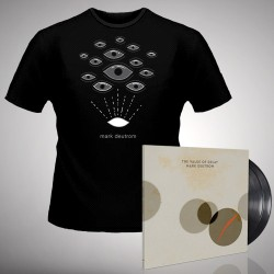 Mark Deutrom - The Value of Decay + Eyes - DOUBLE LP GATEFOLD + T Shirt Bundle (Men)