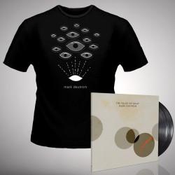 Mark Deutrom - The Value of Decay + Eyes - DOUBLE LP GATEFOLD + T Shirt Bundle (Men)