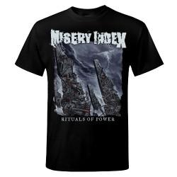 Misery Index - Rituals of Power - T shirt (Men)