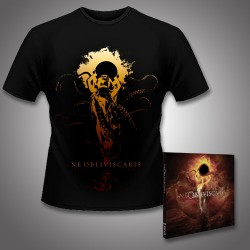 Ne Obliviscaris - Urn + Intra Venus - CD DIGIPAK + T Shirt bundle (Men)