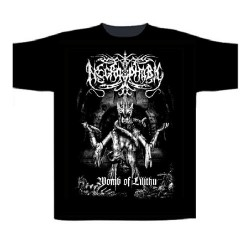 Necrophobic - Womb Of Lilithu - T shirt (Men)