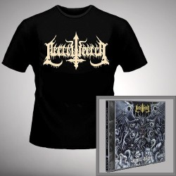 Necrowretch - Satanic Slavery + Putrid Death Metal - CD + T Shirt bundle (Men)