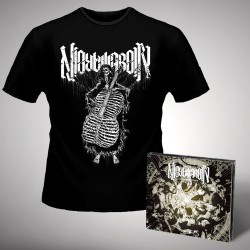 Nightmarer - Cacophony of Terror + Skeleton - CD DIGIPAK + T Shirt bundle (Men)