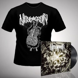 Nightmarer - Cacophony of Terror + Skeleton - LP Gatefold + T Shirt Bundle (Men)