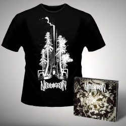 Nightmarer - Cacophony of Terror + Steel Forest - CD DIGIPAK + T Shirt bundle (Men)