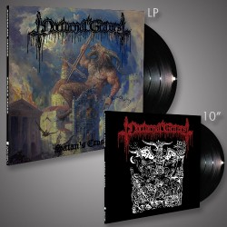 "Nocturnal Graves - Satan's Cross - LP + 10"" + Digital"