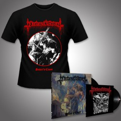 "Nocturnal Graves - Satan's Cross - LP + 10"" + T Shirt Bundle (Men)"