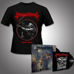 "Nocturnal Graves - Satan's Cross + Legions of Satan - LP + 10"" + TShirt Bundle"