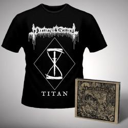 Nocturnal Graves - Titan + Silence the Martyrs Total Resistance - CD DIGIPAK + T Shirt bundle (Men)