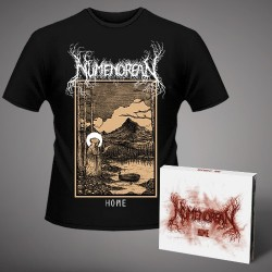 Numenorean - Home US - CD DIGIPAK + T Shirt bundle