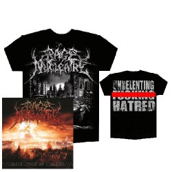 Rage Nucléaire - Black Storm of Violence - CD + T Shirt bundle (Men)