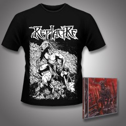 Replacire - Do Not Deviate + Horsestance - CD + T Shirt bundle (Men)