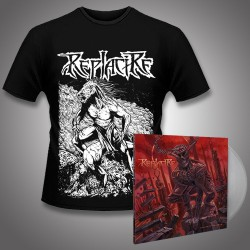 Replacire - Do Not Deviate + Horsestance - LP Gatefold Colored + Tshirt Bundle