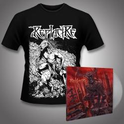 Replacire - Do Not Deviate + Horsestance - LP Gatefold Colored + Tshirt Bundle