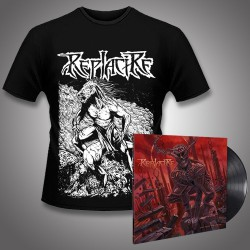 Replacire - Do Not Deviate + Horsestance - LP Gatefold + T Shirt Bundle (Men)