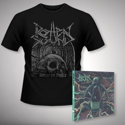 Rotten Sound - Suffer to Abuse + Abuse to Suffer - CD DIGIPAK + T Shirt bundle (Men)
