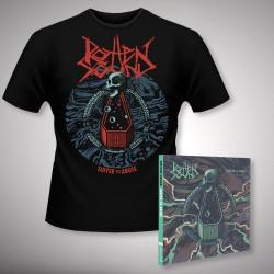 Rotten Sound - Suffer to Abuse - CD DIGIPAK + T Shirt bundle (Men)