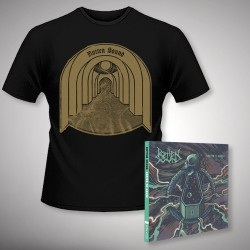 Rotten Sound - Suffer to Abuse + Fear of Shadows - CD DIGIPAK + T Shirt bundle (Men)