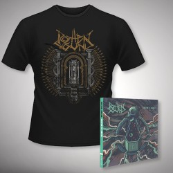 Rotten Sound - Suffer to Abuse + Time - CD DIGIPAK + T Shirt bundle (Men)
