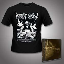 Rotting Christ - Their Greatest Spells - The Best of Rotting Christ + Vampire - 2CD + T Shirt Bundle (Men)