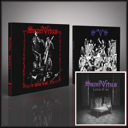 Saint Vitus - Live Vol. 2 + Marbles in the Moshpit + Lillie: F-65 (Deluxe) - CD DIGI + CD DIGISLEEVE + CD/DVD Bundle