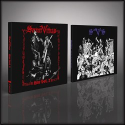 Saint Vitus - Live Vol. 2 + Marbles in the Moshpit - CD DIGI + CD DIGISLEEVE