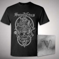 Saint Vitus - Saint Vitus + Skulls - CD DIGIPAK + T Shirt bundle (Men)