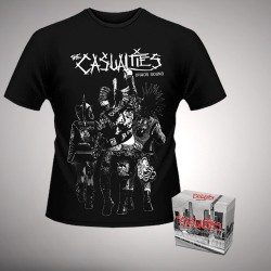 The Casualties - Chaos Sound - Digibox + T Shirt bundle