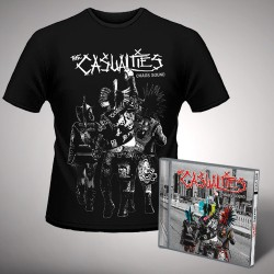 The Casualties - Chaos Sound - CD + T Shirt bundle