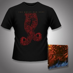 The Great Old Ones - EOD: A Tale of Dark Legacy + The Arms of Madness - CD DIGIPAK + T Shirt bundle (Men)