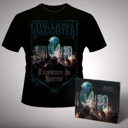 The Lion's Daughter - Existence is Horror - CD DIGIPAK + T Shirt bundle