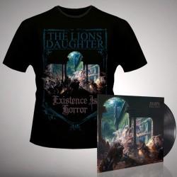 The Lion's Daughter - Existence is Horror - LP Gatefold + T Shirt Bundle (Men)