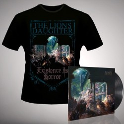 The Lion's Daughter - Existence is Horror - LP Gatefold + TShirt Bundle