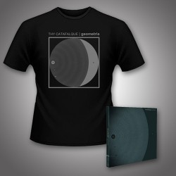 Thy Catafalque - Geometria - CD DIGIPAK + T Shirt bundle (Men)