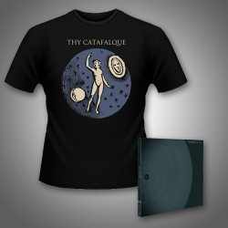 Thy Catafalque - Geometria + Microcosmos - CD DIGIPAK + T Shirt bundle (Men)