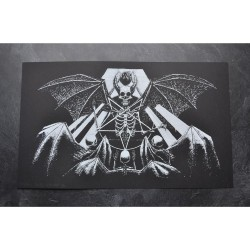 Tsjuder - Demonic Death Worship (from Antiliv) - Screenprint