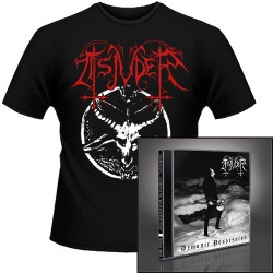 Tsjuder - Demonic Possession + Chainsaw Black Metal - CD + T Shirt bundle