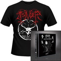 Tsjuder - Kill for Satan + Chainsaw Black Metal - CD + T Shirt bundle (Men)