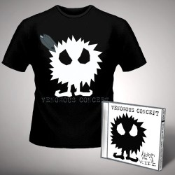 Venomous Concept - Kick Me Silly; VC3 - CD + T Shirt bundle