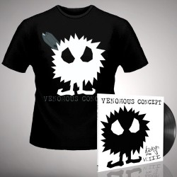 Venomous Concept - Kick Me Silly; VC3 - LP Gatefold + T Shirt Bundle (Men)