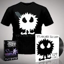 Venomous Concept - Kick Me Silly; VC3 - LP Gatefold + DVD + TShirt Bundle