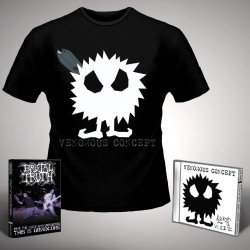 Venomous Concept - Kick Me Silly; VC3 + For the Ugly - CD + DVD + T Shirt bundle