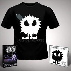 Venomous Concept - Kick Me Silly; VC3 + For the Ugly - CD + DVD + T Shirt bundle