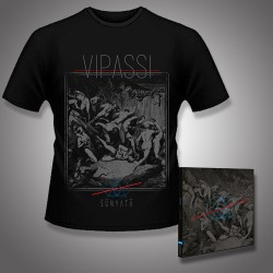 Vipassi - Sunyata - CD DIGIPAK + T Shirt bundle