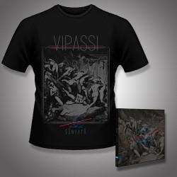 Vipassi - Sunyata - CD DIGIPAK + T Shirt bundle